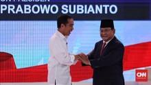 Kubu Jokowi dan Prabowo Saling Lomba Putihkan TPS