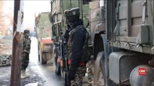 VIDEO: Lima Orang Tewas dalam Baku Tembak di Kashmir
