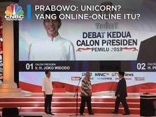 Simak! Pertanyaan Jokowi & Jawaban Prabowo Soal Unicorn