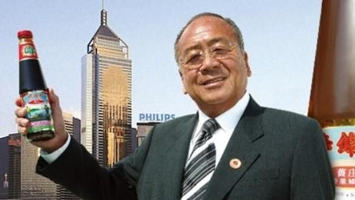 Saus Tiram Jadikan Pria Ini Orang Terkaya Ketiga di Hong Kong