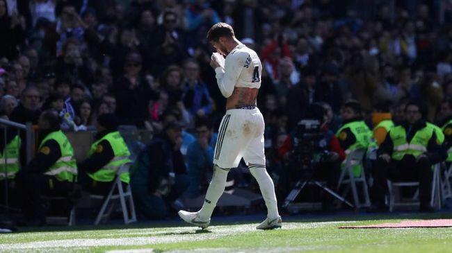 Madrid Terpuruk, Sergio Ramos Bertengkar dengan Marcelo