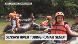 Sensasi River Tubing Rumah Semut
