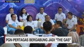 PGN-Pertagas Bergabung Jadi