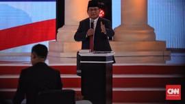 Ulasan Debat: Siasat Manis Prabowo di Balik Tampilan Kalem