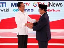 Prabowo-Jokowi Satu Suara Soal Dampak Kerusakan Tambang