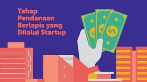 INFOGRAFIS: Tahap Pendanaan Berlapis yang Dilalui Startup