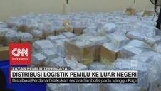 Distribusi Logistik Pemilu ke Luar Negeri
