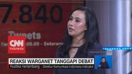 Reaksi Warganet Tanggapi Debat Kedua Pilpres 2019