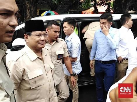 Prabowo Besuk Ahmad Dhani di Rutan Medaeng Surabaya