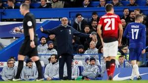 Sarri: Chelsea Kebingungan Saat Dikalahkan Man United