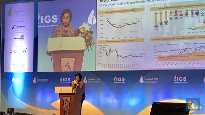 Defisit migas makin mengkhawatirkan, Sri Mulyani ingatkan peran sektor gas untuk jadi tumpuan