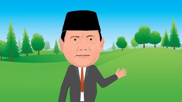 340 Ribu Ha Lahan Prabowo