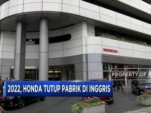Honda Tutup Pabrik di Inggris