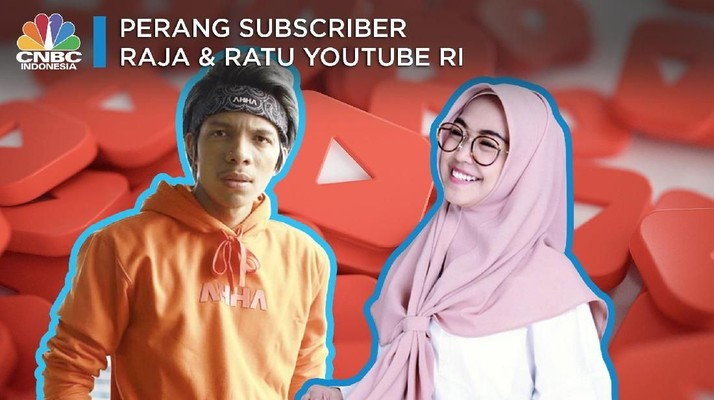 Tembus 10 Juta Subscribers Lebih, Ini Raja & Ratu Youtube RI!