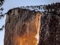 'Air Terjun Api' Muncul di Taman Nasional Yosemite