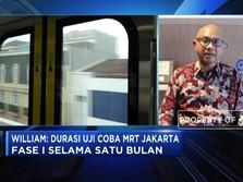 Siap-siap naik MRT, Ini Progres Pekerjaannya