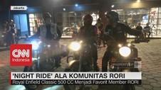'Night Ride' ala Komunitas Rori