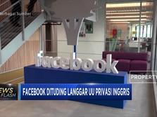 Facebook Dituding Langgar UU Privasi Inggris