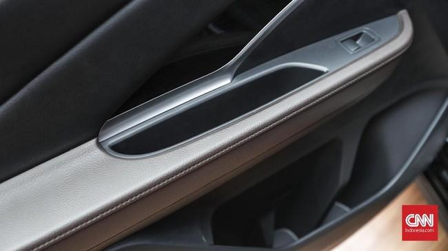 Interior Nissan Livina model baru didesain untuk kenyamanan penumpang. (CNNIndonesia/Safir Makki)