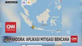 Sipandora: Aplikasi Mitigasi Bencana dari LAPAN
