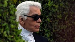 Jenazah Karl Lagerfeld Dikremasi