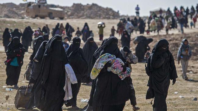 Pengikut ISIS Masih Buat Masalah di Pengungsian Kurdi