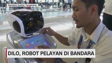 Dilo, Robot Pelayan di Bandara
