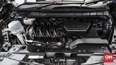 Mobil keluarga ini dilengkapi mesin 1.997 cc dengan transmisi CVT. (CNNIndonesia/Safir Makki)