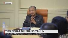 Mahathir Mohammad Soal Tantangan Milenial & Menteri Muda