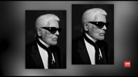 VIDEO: Desainer Chanel Karl Lagerfeld Tutup Usia