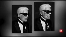 VIDEO: Desainer Chanel Karl Lagerfeld Tutup Usia