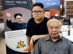 Salon Vietnam Tawarkan Potong Rambut Gratis Model Kim & Trump