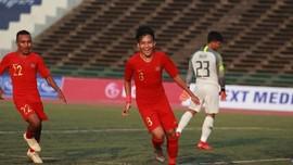 Hajar Kamboja, Timnas Indonesia U-22 ke Semifinal Piala AFF