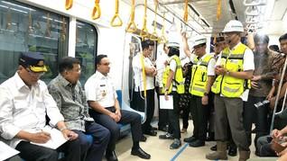 JK Imbau Warga Disiplin dan Tak 'Corat-coret' Saat Naik MRT