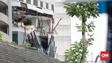 Ledakan Mal Taman Anggrek Rusak 40 Konter