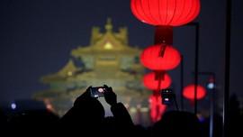 FOTO: Lampion yang Menyinari Kota Terlarang