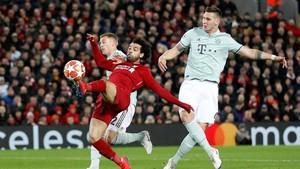 Liverpool vs Bayern Munchen Imbang di Babak Pertama