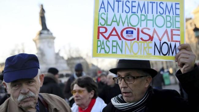 Prancis adalah negara di Eropa dengan populasi etnis Yahudi terbesar. (REUTERS/Gonzalo Fuentes)