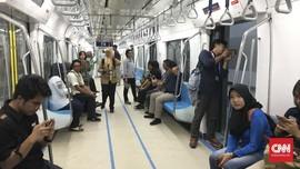 Sebut Tarif Terjangkau, Warga Tak Beralih Gunakan MRT