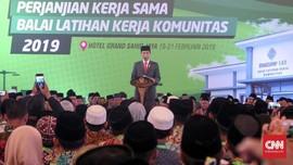 Jokowi Ingin Bangun 3.000 Balai Latihan Kerja di Pesantren