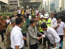 Saat Jajal MRT, Wapres JK Sebut Indonesia Terlambat Membangun