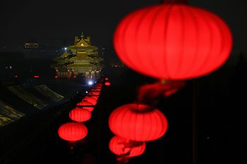 Indahnya Festival Lampion di Kota Terlarang