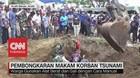 Makam Massal Korban Tsunami Aceh Dibongkar