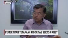 Pemerintah Tetapkan Prioritas Sektor Riset