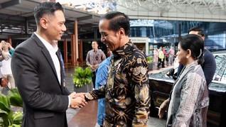 Jokowi Tunda Pertemuan dengan AHY Usai Pengumuman Pilpres