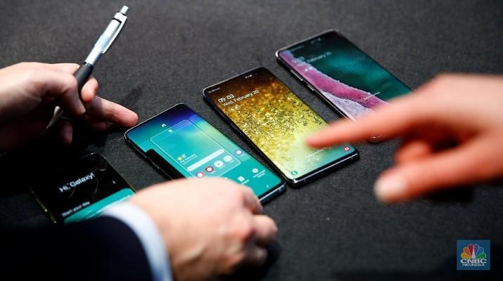 Samsung memberikan pembaruan sistem operasi Android 10 di banyak produknya.
