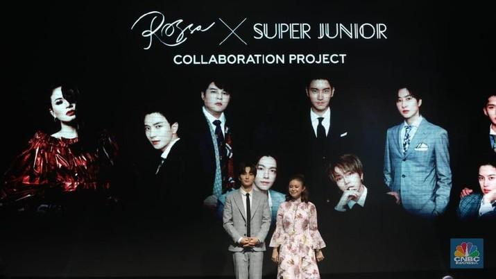 Lee Teuk 'Super Junior' Deg-degan Siapkan Duet dengan Rossa