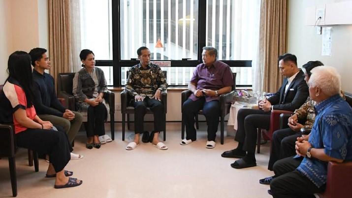 Jokowi pun angkat bicara mengenai kabar adanya pertemuan tersebut.