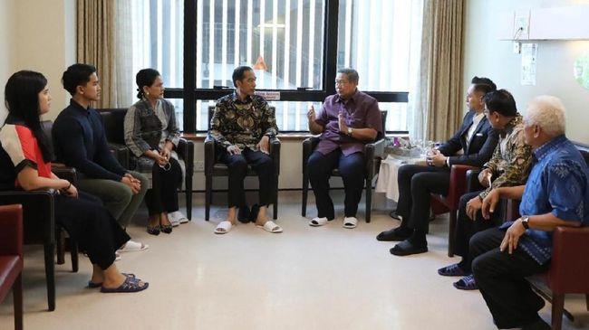 Jokowi: Kondisi Kesehatan Bu Ani Semakin Membaik