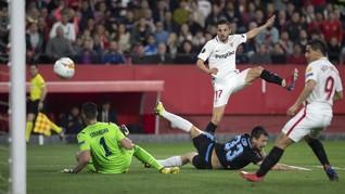Kalahkan Lazio, Sevilla Lolos Babak 16 Besar Liga Europa